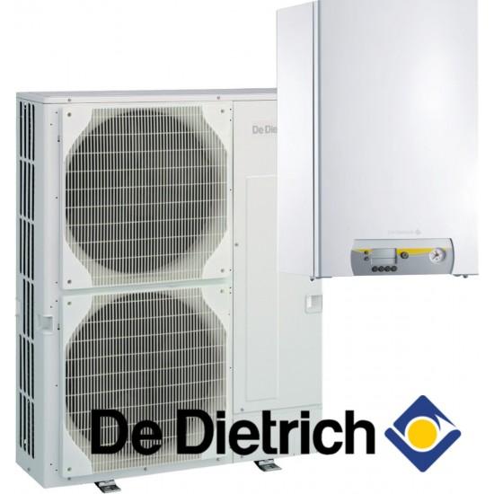 Installation de Pompe à chaleur chauffage seul split DE DIETRICH Alezio Evolution  AWHP-3/E 6MR avec appoint électrique