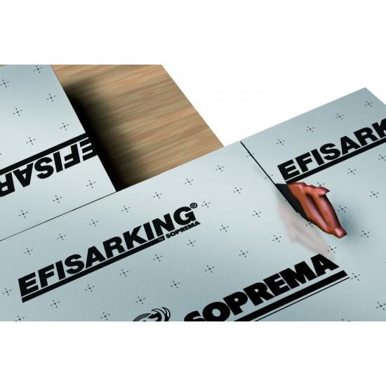 Isolation toiture pente avec système Efisarking