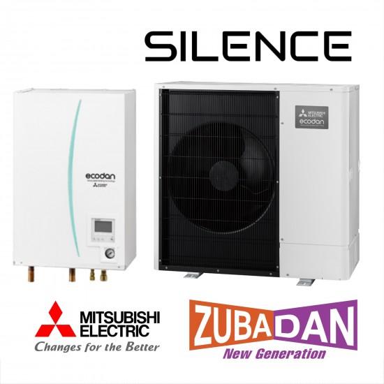Installation de Pompe à chaleur Mitsubishi ECODAN Hydrobox 11 ZUBADAN Silence